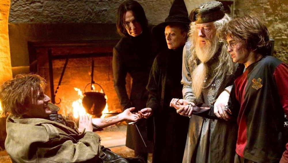 Escena de 'Harry Potter y el Cáliz de Fuego'