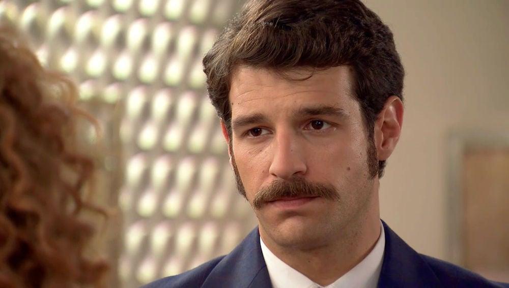"""Carlos, resignado a Natalia: """"Debo aceptar que has elegido a mi hermano"""""""
