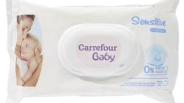 Toallitas Carrefour afectadas por una bacteria