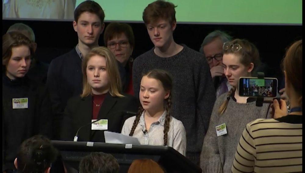 """Los jóvenes acusan a los políticos de """"no hacer los deberes"""" contra el cambio climático"""