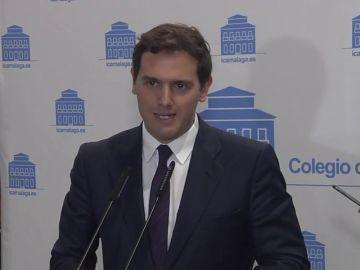 Rivera elude posicionarse sobre si Arrimadas irá en las listas de Ciudadanos en las elecciones generales