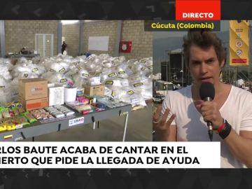 """Carlos Baute, sobre el concierto solidario por Venezuela: """"Creo que vamos a conseguir abrir el canal humanitario que tanta falta hace"""""""