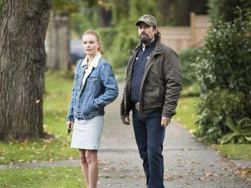 Kate Bosworth y John Travolta en 'Hombres de élite'