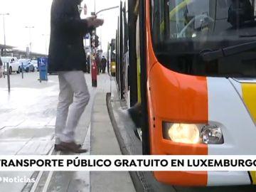 Luxemburgo será el primer país europeo en implantar el transporte gratuito para sus pasajeros