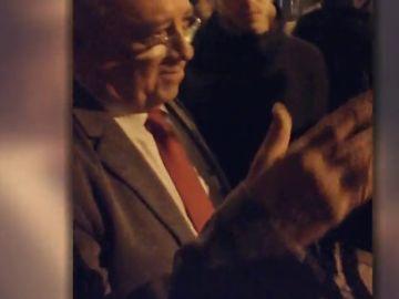 Escrache a Mario Isea, embajador de Venezuela en España en una universidad en Madrid