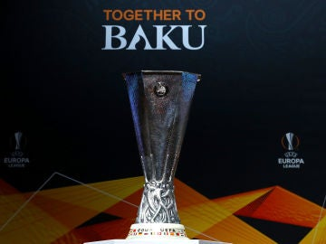 El trofeo de la Europa League