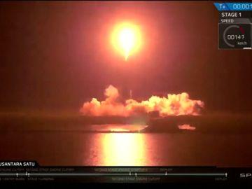 Israel lanza con éxito una nave espacial a la Luna