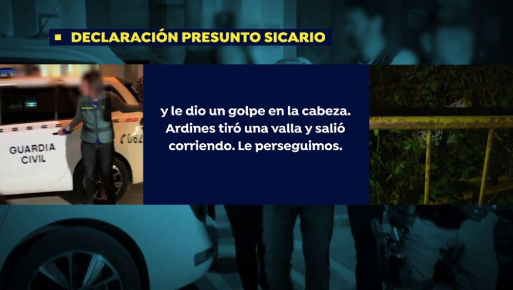 """Así planificaron los sicarios el crimen de Javier Ardines: """"Lo primero que hizo fue rociarle la cara de gas pimienta y le dio un golpe en la cabeza"""""""