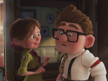 Carl y Ellie en 'Up'