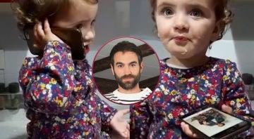 """El vídeo más adorable de Elaia dedicado a su """"aita"""" Jon Plazaola antes del estreno de la quinta temporada de 'Allí abajo'"""