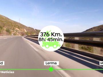 ¿Cómo es un viaje de 400 kilómetros con un coche eléctrico? Antena 3 Noticias comprueba los sorprendentes pros y contras