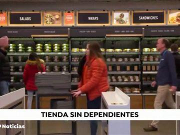 Llega la primera tienda sin dependientes a España