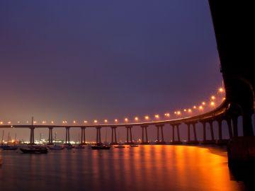 Puente de Coronado, en San Diego
