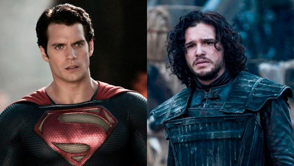 Henry Cavill y Kit Harington como Superman y Jon Snow