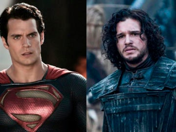 Henry Cavill y Kit Harington como Superman y Jon Snow