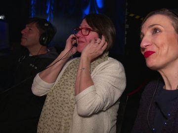 """VÍDEO-MÁS VOZ: Una emocionada Lucía Collado, vocal coach, reza por Tomás Basso: """"Pido a Santa Whitney Huston que no se vaya de 'La Voz'"""""""