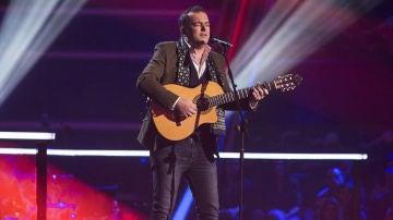 VÍDEO-LA VOZ:Javi Moya canta 'Mi marciana' en los Asaltos de 'La Voz'