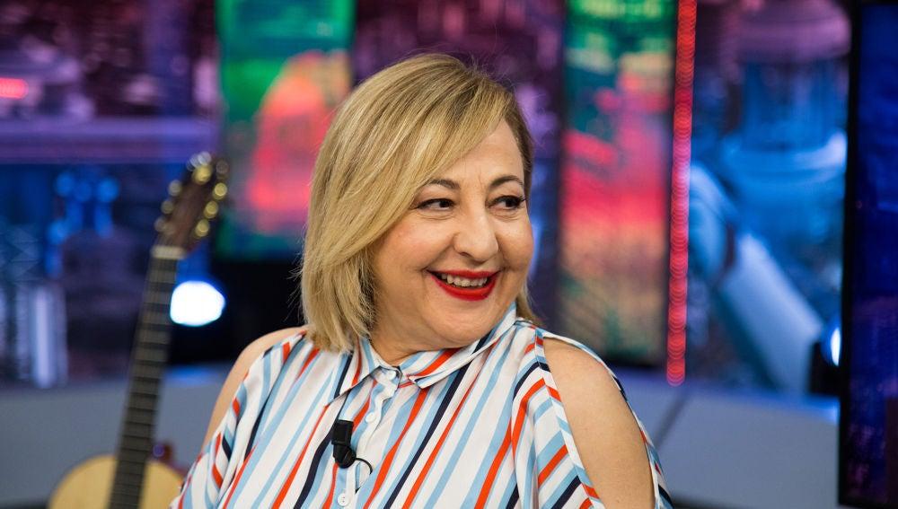 Carmen Machi desvela en 'El Hormiguero 3.0' algunos detalles sobre su nueva serie en Netflix
