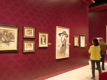 Vida y obra de Toulouse-Lautrec en una exposición en Madrid