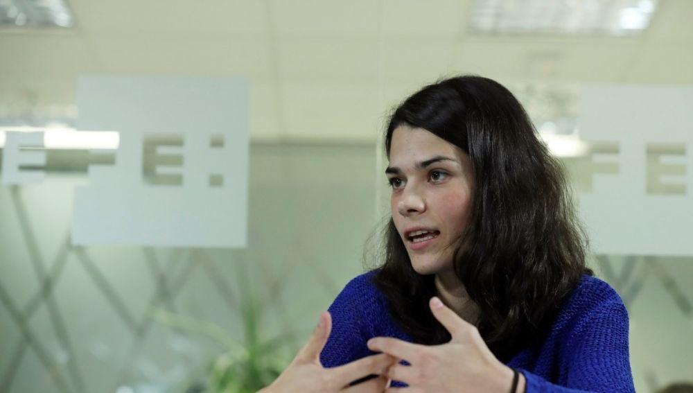 Isa Serra, diputada de Podemos en la Asamblea de Madrid