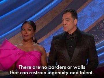 """El discurso de Javier Bardem en los Oscar: """"No hay muros que frenen el ingenio y el talento"""""""