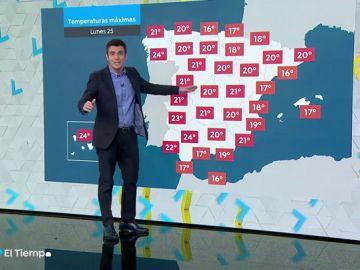 El tiempo primaveral sigue predominando en toda España