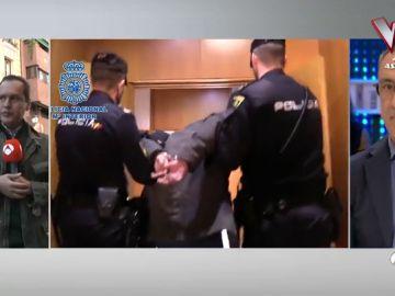 Detención del 'caníbal' de Ventas