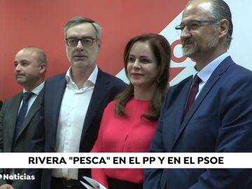 Ciudadanos ficha a antiguos cargos del PP y PSOE en Castilla y León Y Baleares