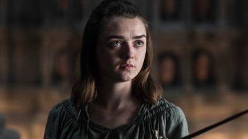 Arya Stark es uno de los personajes más queridos de 'Juego de Tronos'