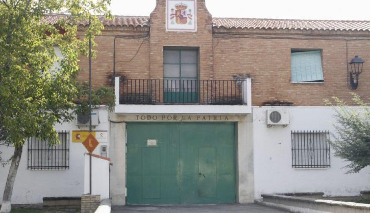 Cuartel Guardia Civil Láchar