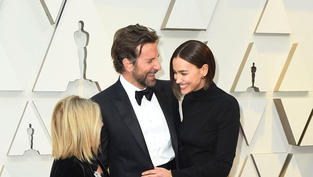Bradley Cooper, Irina Shayk y la madre del actor