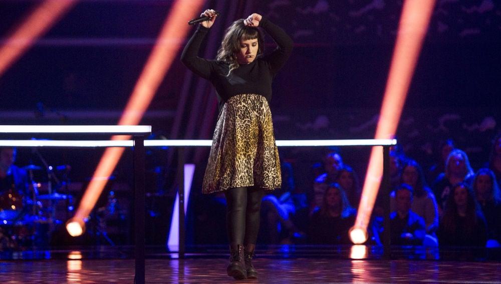 Video actuación Lia Kali en los Asaltos de 'La Voz'
