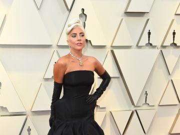 Lady Gaga, con un diseño de McQueen
