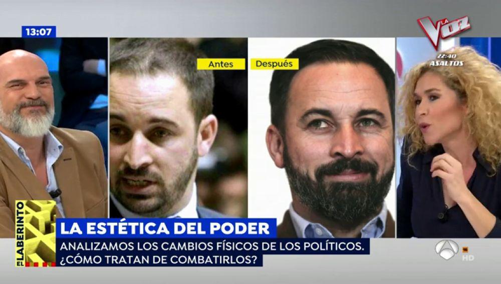 El antes y después de Santiag Abascal