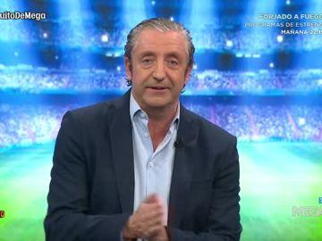 Josep Pedrerol presentando 'El chriringuito de Jugones'
