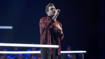 Vídeo: Actuación Álvaro de Luna en los Asaltos de 'La Voz'