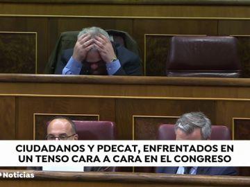 El diputado independentista Jordi Xuclá se enfrenta a Girauta