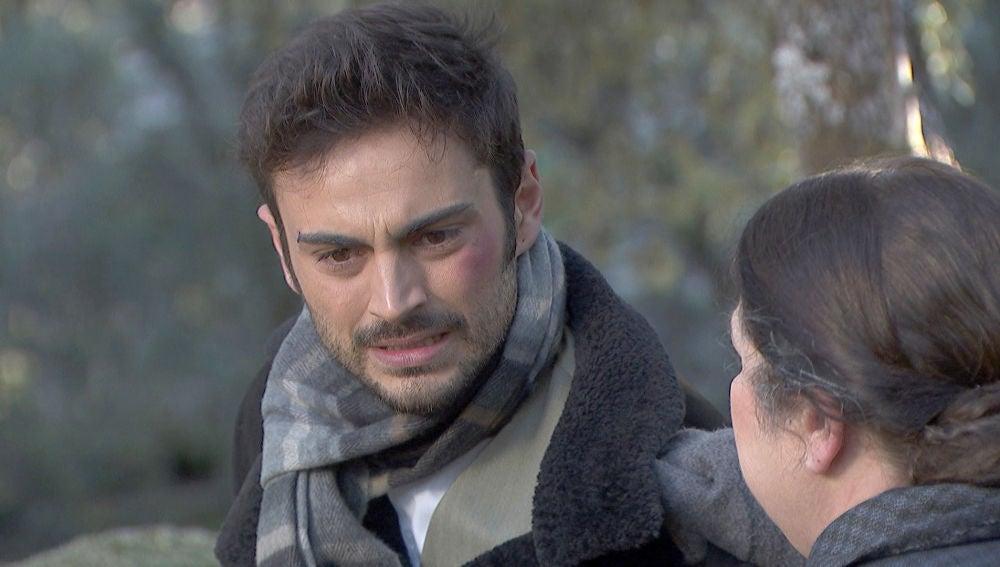Saúl, a punto de condenar a Julieta al sufrimiento eterno