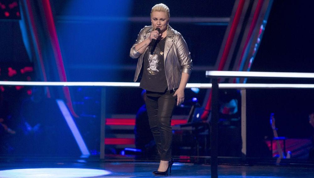 VÍDEO: Onelia Leiva canta 'Million reasons' en los Asaltos de 'La Voz'