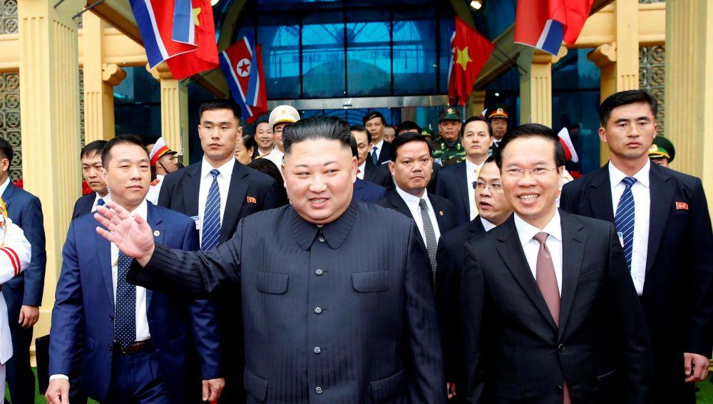 El líder norcoreano, Kim Jong-un