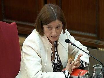 La expresidenta del Parlament Carme Forcadell