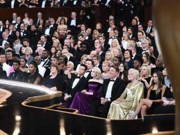 El público de los Oscar tampoco se dio cuenta