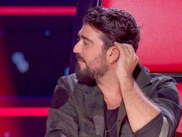 El pelo de Antonio Orozco, la pesadilla de los maquilladores de 'La Voz'