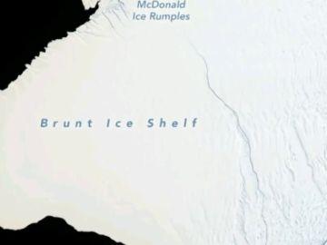 La Antártida perderá un iceberg cuya superficie total es el doble que el de la ciudad de Nueva York