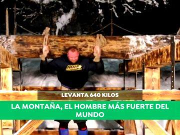 'La Montaña' de 'Juego de Tronos' y sus históricos registros como hombre más fuerte del planeta