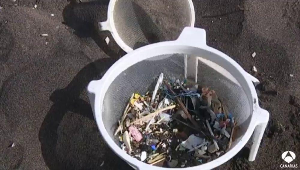 Concienciación contra los microplásticos