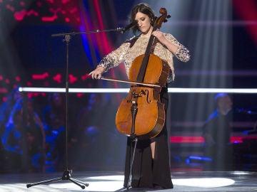 VÍDEO: Keila García canta 'Lucha de gigantes' en los Asaltos de 'La Voz'