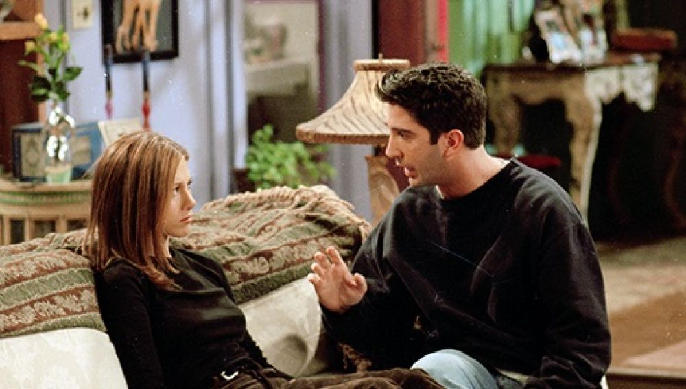 Ross y Rachel en 'Friends'