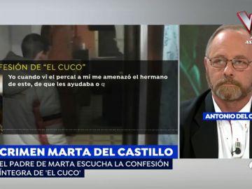 Antonio del Castillo, padre de Marta del Castillo
