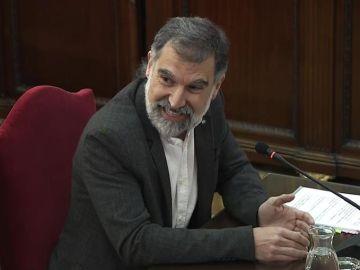 El líder de Òmnium Cultural, Jordi Cuixart